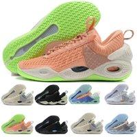 Unità cosmica di alta qualità 1 1s Mens Scarpe da basket Jumpman Zapatos Black Bianco Mark Midnight University Toe Seafoam Trainer Sport Sneaker Dimensione 40-45
