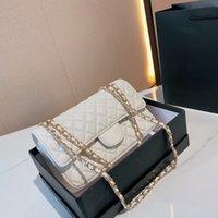 Bolsa de ombro de cadeia Senhoras Sacos de desenhista de luxo Sacos Crossbody Bolsa de Moda Clássico Couro Lambskin Clutch Pequeno Carteira Flip Múltiplos Cor