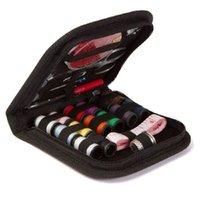 수선 키트 봉제 키트 여행 크기 DIY 재봉 용품 가위가 가득 가짜 공예 도구 Thimble 스레드 바느질 바느질 바느질 바느질 RRD7063