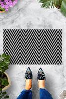 Carpets Zigzag Door Mat Bedroom Kitchen Bath Floor Mats Home Entrance Multipurpose Doormat Non-slip 45*70cm