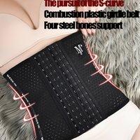 Body Shapes Wear Weight Waist Trainer Shaper Corset Sauna Slimming Belt Cincher Girdle Wrap Latex 25 Steel Bonds For Postpartum Pregnant Women