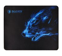 Mouse Pads & Wrist Rests 300*250*3 MM Black Comfort Wolf Pattern Mousepad Anti Slip Laptop Computer PC Gaming Mice Pad Mat For Optical #BL2