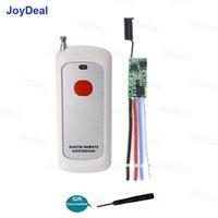 Smart Home Control 433 MHz Trasmettitore remoto senza fili a lunga distanza Transmettitore a risparmio energetico Mini relè 1ch Interruttore 3,7 V 4.2 V 5 V 6V 12V 7.4 V 2A