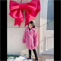 Baby, & Maternity Drop Delivery 2021 Toddler Coat Jacket Baby Girls Windproof Winter Fashion Turn-Down Collar Fleece Thicken Warm Kids Long O
