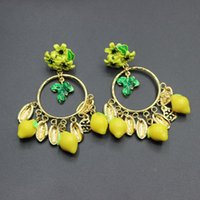 European And American Female Earrings Catwalk Section Baroque Circle Temperament Retro Big 262 Stud