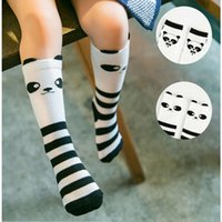 Toddlers Baby Girls high Long Sock Soft Cotton Baby Non-Slip Socks Suit Baby Knee Socks Cute Cartoon Fox Kids Sock Fashion Princess Dre