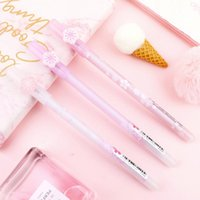 Gel Pens 3 Pcs lot Sakura Pen Cute 0.5mm Erasable Blue Ink Neutral For Writing Korean Stationery Gift School Supplies