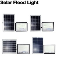 200W 300W Solar Lamps Flood Lights Outdoor Waterproof IP65 with Remote Control Security Lighting for Yard Garden