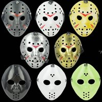 NewJason vs Black Friday Horror Killer Mask Cosplay Disfraz de Cosplay Masquerade Party Mask Hockey Protección de béisbol RRA8023