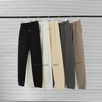 Essentials jogger réfléchissant long pantalon femmes hommes tracksuit brouillard pantalons essentiels sweatshirt joggers succursales costume set femmes hommes à capuche