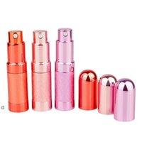 6 ml Mini Bullet Parfüm Şişesi Sprey Alüminyum Tüp Boş Şişe Kozmetik Dağıtıcı Taşınabilir Küçük Şişe Owe10611