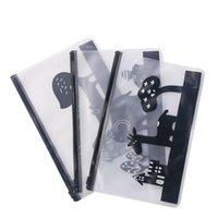 Pencil Bags 1pcs Transparent PVC School Box Bag Supplies Stationery Kawaii