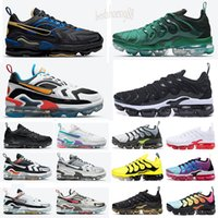 Air VaporMax Plus TN EVO nuova FK Knit 2.0 Triple Nero CNY Orca Vola 1.0 Running Shoes Pure Platinum Diffusa Taupe giacca pacco stilista Shoes