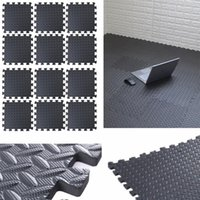 30*30cm EVA Leaf Grain Floor Mats Gym Mat Splicing Patchwork Rugs Thicken For Fitness Room Workouts Yoga