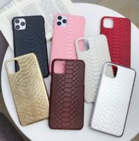 Luxury snake PU leather phone cases for iPhone 12 11 pro promax X XS Max 7 8 Plus case cover