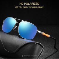 Männer und Frauen Polarisierte Sonnenbrille Serie 365 Quadratisch blendend Film fahren feiernsgläser