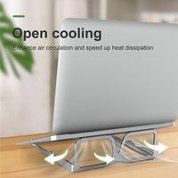 Portátil plegable portátil Padín de enfriamiento portátil soporte informático elevado calor disipación soporte tablet pc metal escritorio estante estudiante libro oblicuo colocación bastidor