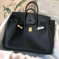 Designers sacos de mulher Bolsa Berkin Bolsas Grande Capacidade Moda Full-Grão Litchi Padrão de Couro De Couro Genuíno Saco de Ombro Shopping Carteira para bolsa de bolsa