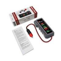 Auto-Batterie-Tester Mini 12V Digital-Generator 6 LED-Leuchten Anzeigediagnosewerkzeug Auto für