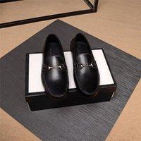 Mm tamaño grande 36 ~ 45 zapatos de cuero genuino de alta calidad zapatos de mocasines blandos Mocasines de moda Moda Marca Menores Pisos Zapatos de conducción cómodos 11