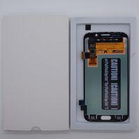 Samsung Galaxy S6 Kenar G925 için Acoled Ekran Çerçevesi Olmadan LCD Ekran Panelleri