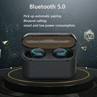 Wireless Bluetooth 5.0 Earphones Q32 Tws Handsfree Headphones Sports Earbuds Gaming Headset Compatible with Universal Phones nice