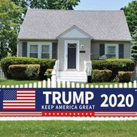50*250CM Trump 2024 US Presidential Campaign Election Banner Accessories Keep America Great Letters Printed Garden House Flags gG49KY08