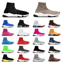 sock shoes chaussures sport chaussettes hommes trainer vitesse classique triple chaussettes coussin de chaussures noir blanc jaune mens sneakers femmes