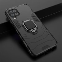 Durable Hard PC + Flexible Silicon Bumper Armor Back Phone Cases For Samsung Galaxy S20 FE M51 M31S A01 Core M01 Note 20 Ultra A21S A31 Plus