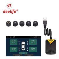 자동차 라디오 및 DVD 플레이어, 타이어 압력 모니터링, 예비 타이어 외부 및 내부 센서가있는 멀티미디어 플레이어 시스템