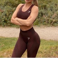 Yoga Outfits Gym shark snow visual fitness pants high waist tight sports hip lifting quick drying nine point peach