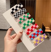 Factory Classic Tortoise Shell Hair Clips Chess Celluloid Ponytail Holder French Barrettes for Women Girls HWE9599