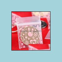 Storage Housekee Organization Home & Gardenstorage Bags Hardiron Mini Pe Small Items Bag Plastic Packaging Pouch Earring Ring Pendant Drop D