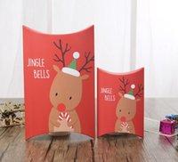 Caixa de Presente de Natal Christma Pacote Moose Padrão Descanso Caixas Coréia Creative Doces Caso Dos Desenhos Animados Desenhos Animados Desenhos Animados Embalagem KKB7094