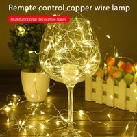Strips Garland LED Light Strings Christmas Fairy Lights Outdoor Battery Operated Decoration Party Wedding