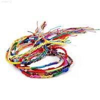 Bracelet filles mode de luxe de luxe coloré violet infini bijoux fait main bijoux tresse cordon tressé amitié bracelets cadeau