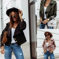 2020 Fashion Women Restore Winter Effects Color Jas Single-Breasted Design Turn-Down collar Long Mouse Slender Pluche Cardgian Jas