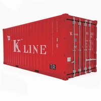 Diecast Truck Model 1 20 Scale Accsori Container Box Model Toy Die-cast Simulation Shipping ONE Container Model Collect Gift