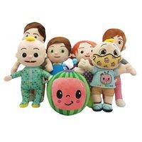 Cocomelon little boy fruit watermelon plush toy JOJO doll gift