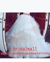 Vestidos De Novia Vintage 2019 Appliqued Tulle African Wedding Dresses Off the Shoulder Bridal Ball Gowns Plus Size Garden Beach Bride Dress