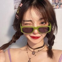 Hip Hop Square Sunglasses Women Y2k Steampunk Sun Glasses Trending Designer Street Eyewear Eyeglass Gafas De Sol