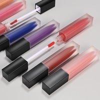 Lip Gloss 27 Farben Make-up Matte Nackt Lippenstift Wasserdichte langlebige Nicht-Stick-Cup-Flüssigkeit benutzerdefinierte Logo Private Label-Kosmetikkosmetik