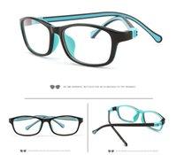 Silika Jel Anti-Mavi Işık Gözlük Çocuklar için Güneş Gözlüğü Bebek Erkek Ve Kızlar Aynı Çerçeve UV 400