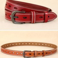 TOP WITH BOX Men belt womens high Quality Genuine