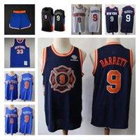 Мужчины . 9 Барретд Джерси Р.Ю. # 9 patrick 33 rewing raphwing шорты баскетбол майки синий 2021 новый