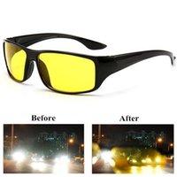 Outdoor Eyewear Radfahren Anti-Blend Nachtsicht Fahrer Brille Fahren Enhanced Light Glases Mode Sonnenbrille Auto Zubehör