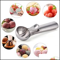 Kitchen, Dining Bar Home & Gardenice Stainless Steel Cream Spoon Metal Icecream Cookie Scoop Melon Fruit Baller Ice Ball Maker Kitchen Tools