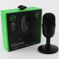 Razer Seireen Mini USB Condenser Microphone Ultra-Compact Streaming Desk Micce Mice для домашнего дома США