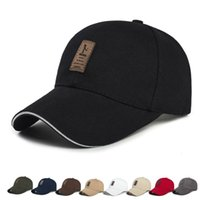 Unisex Fashion Summer Cotton Breathable Sports Adjustable Hat Men Women Adjustable Baseball Cap Outdoor Casual Solid Colors Hats DH1370