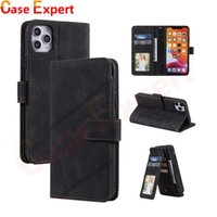 Multifunction Leather Wallet Phone Cases With Cardholder for iPhone 12 Pro Max Samsung S21 Ultra Note 20 A10 A20 A30 A40 A50 A70